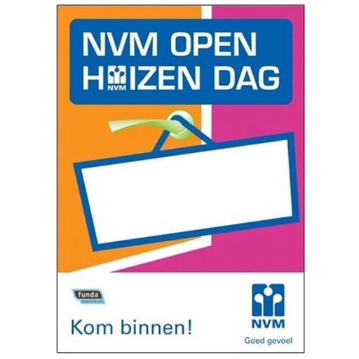 Raamposter NVm Open Huizen Dag Funda